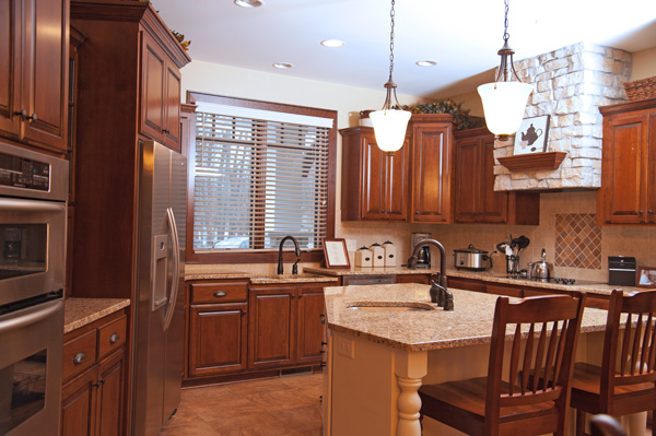 The kitchens in our homes, while they meet all the requirements for our Assisted Living, Class F License, are beautiful showpieces.