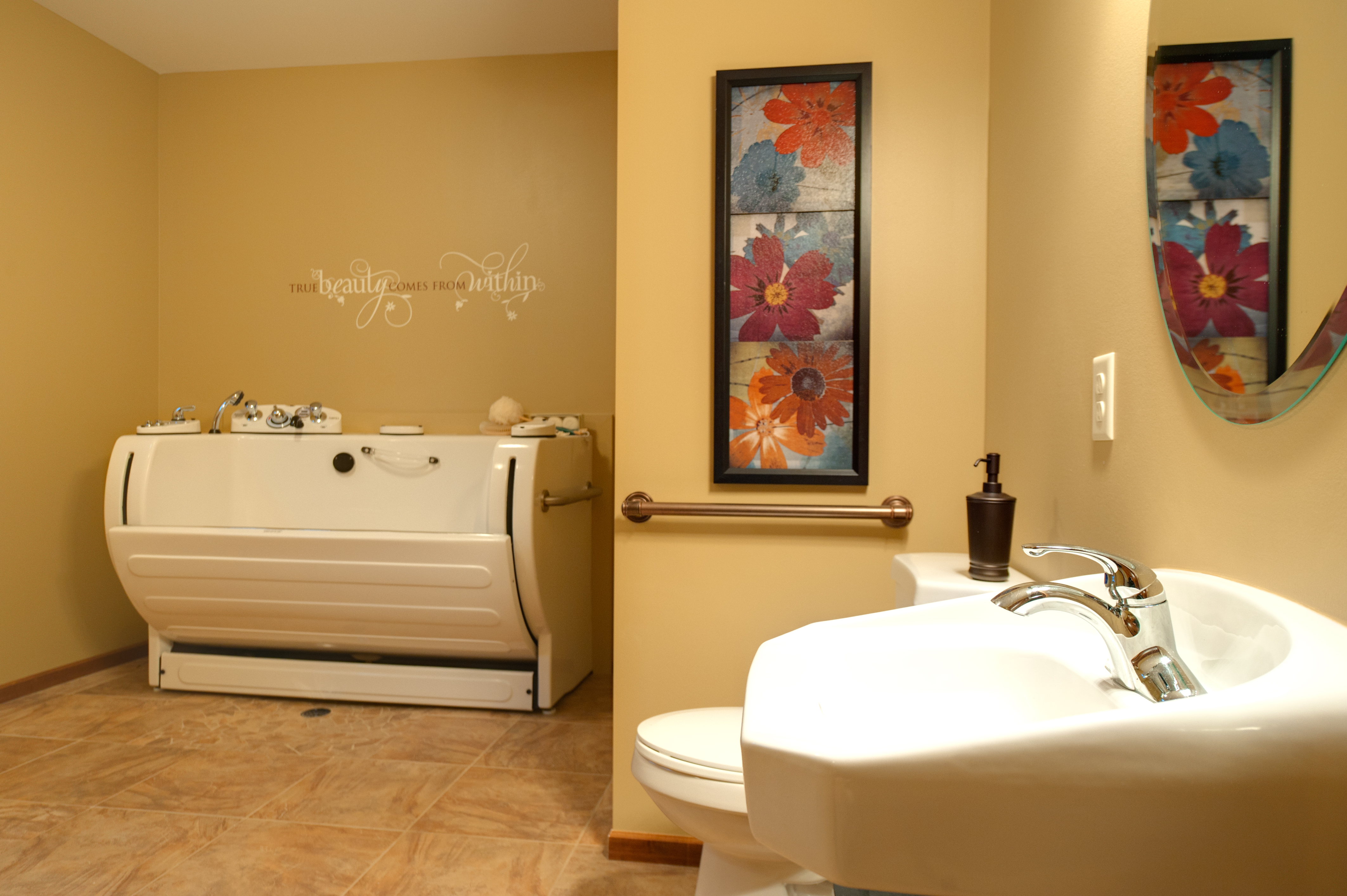 Private Bedroom and Bathroom - Arthur\'s Residential Care