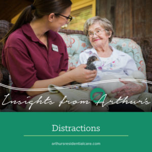 Be aware of distractions