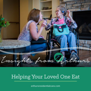 Helping your loved one eat