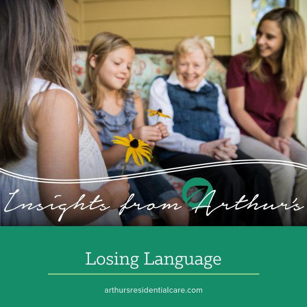 Losing language