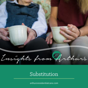 Substitution vs subtraction
