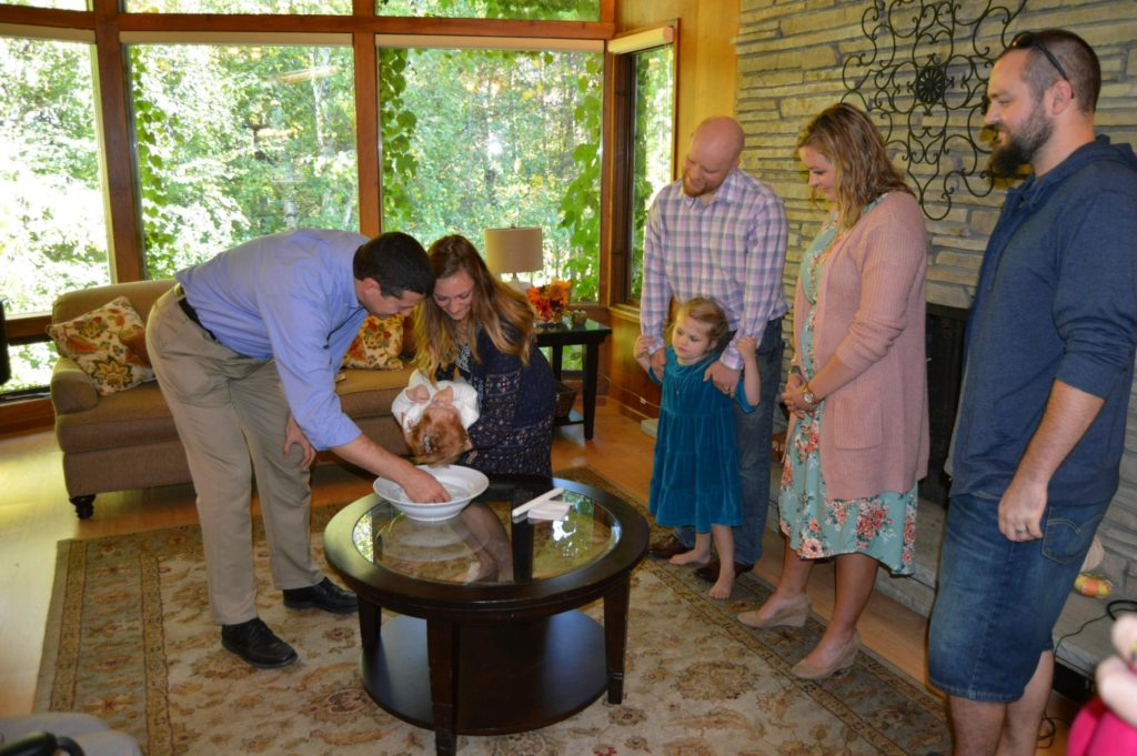 A Baptism at Arthur's Senior Care